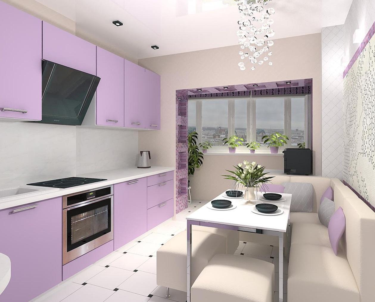 обои для фиолетовой кухни фото одной версии, воскресеньям